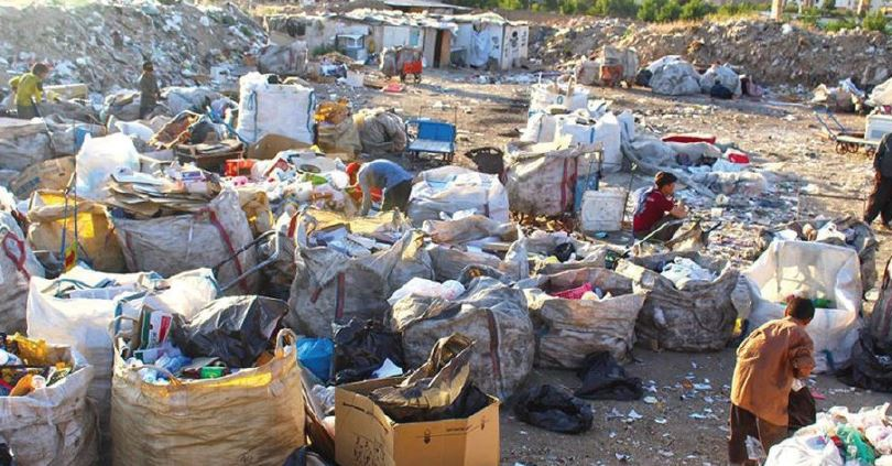 زباله گردی در تهران