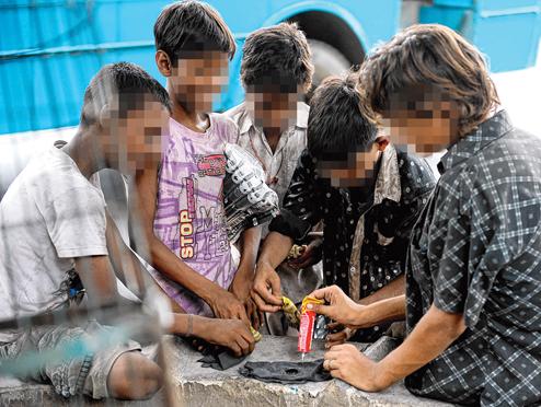 کودکان معتاد- مرکز توانمندسازی حاکمیت و جامعه
