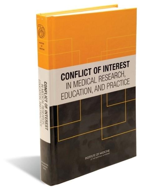 تعارض منافع در آموزش، پژوهش و اقدامات پزشکی